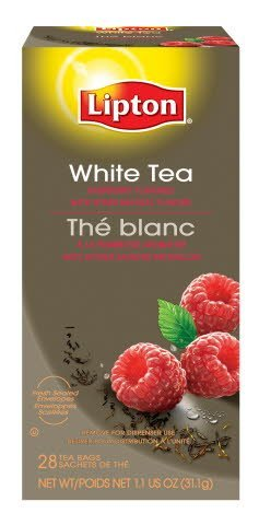 Lipton® White Tea with Raspberry 6 boxes, 28 bag count