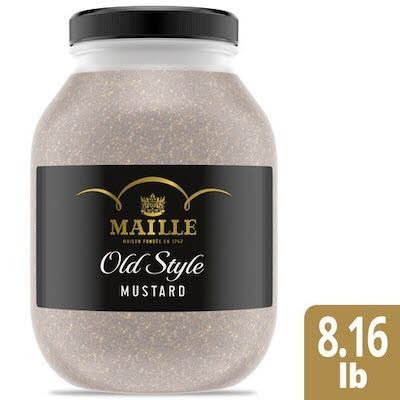Maille Old Style Mustard 1 gallon, pack of 4 -