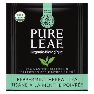 Pure Leaf® Organic Peppermint Herbal Hot Tea 6 x 20 bags -