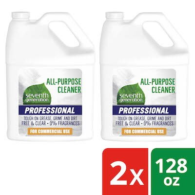 Seventh Generation Professional All Purpose Cleaner Refill 2 x 128 oz -
