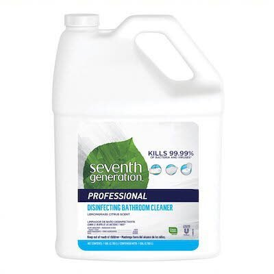 Seventh Generation Professional Disinfecting Bathroom Cleaner Refill 128 oz x 2  -