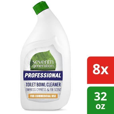 Seventh Generation Professional Toilet Bowl Cleaner 32 oz x 8 -