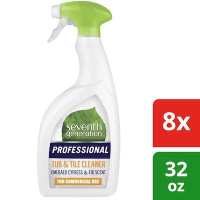 Seventh Generation Professional Tub and Tile Cleaner 32 oz x 8 -