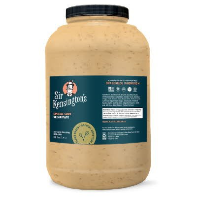 Sir Kensington's Special Sauce Vegan Mayonnaise 4 x 1 gal - 100% Sunflower Oil.