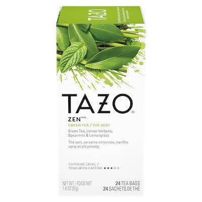 TAZO® Hot Tea Filterbag Zen Green 24 count, pack of 6 - TAZO® offers teas with a twist for deliciously unique flavors