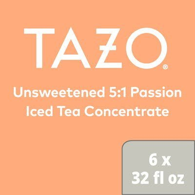 TAZO® Iced Tea Concentrate 5:1 Passion 946 ml, pack of 6 -