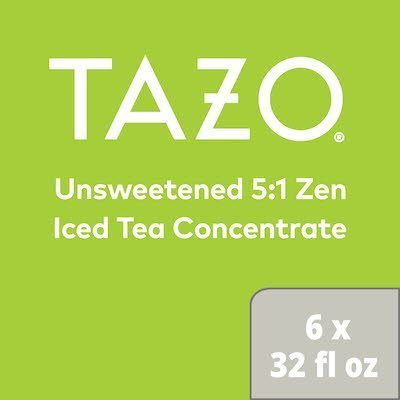 TAZO® Iced Tea Concentrate 5:1 Zen 946 ml, pack of 6 -