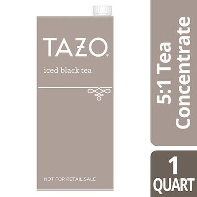 TAZO® Iced Tea Concentrate Black 5:1 32 ounces, pack of 6 - TAZO® offers teas with a twist for deliciously unique flavors