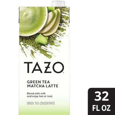 TAZO® Tea Concentrate Green Matcha Latte 1:1 6 x 32 oz -