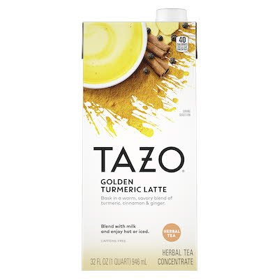 TAZO® Turmeric Latte Golden Milk 6 x 32oz -