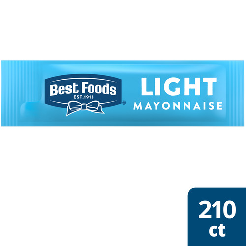 Best Foods® Light Mayonnaise Stick Pack 210 x 0.38 oz - Best Foods® Light Mayonnaise Stick Pack (210 x 0.38 oz) brings out the flavor of quality meat and produce.