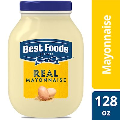 Best Foods® Real Mayonnaise Gallon 1 gallon, pack of 4 - Best Foods Real Mayonnaise for Food Service Gallon is a perfect balance of acidic and sweet flavor.