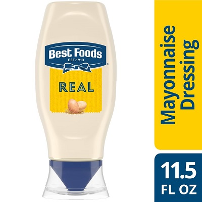 Best Foods® Real Mayonnaise Squeeze Bottle 11.5 ounces, 12 count - Best Foods® Real Mayonnaise is made with real eggs, oil, and vinegar for a rich, creamy flavor that your guests can savor.