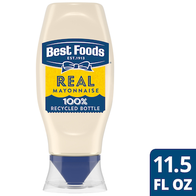 Best Foods® Real Mayonnaise Squeeze Bottle 12 x 11.5 oz - Best Foods® Real Mayonnaise is made with real eggs, oil, and vinegar for a rich, creamy flavor that your guests can savor.