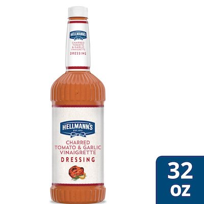 Hellmann's® Charred Tomato & Garlic Dressing 6 x 32 oz - I'm constantly looking for new flavor combinations to keep my salads fresh and exciting for my guests.