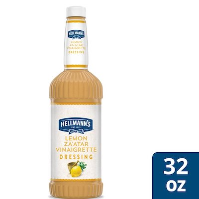Hellmann's® Lemon Za'atar Salad Dressing 6 x 32 oz - I'm constantly looking for new flavor combinations to keep my salads fresh and exciting for my guests.