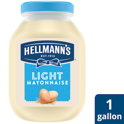 Hellmann's® Light Mayonnaise 4 x 1 gal - Hellmann's® brings out the flavor of quality meat and produce.