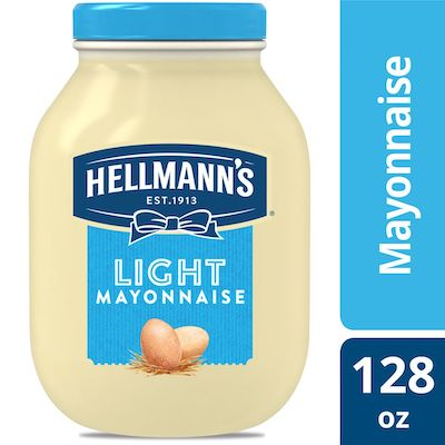 Hellmann's® Mayonnaise Gallon Light 1 Gallon, Pack of 4