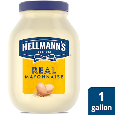 Hellmann's® Mayonnaise Gallon Real 1 gallon, pack of 4 - Hellmann's® brings out the flavor of quality meat and produce.