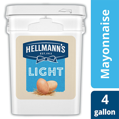 Hellmann's® Mayonnaise Pail Light 4 gallon, pack of 1