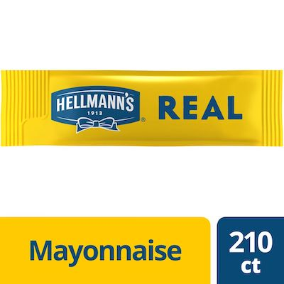 Hellmann's® Mayonnaise Stick Packets Real 0.38 ounces, 210 count