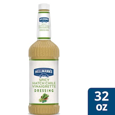 Hellmann's® Spicy Hatch Chile Vinaigrette 6 x 32 oz - I'm constantly looking for new flavor combinations to keep my salads fresh and exciting for my guests.