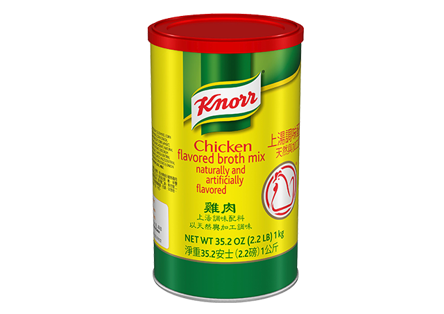 Knorr Broth Mix Chicken Powder 182 Pound 6 Count Unilever Food