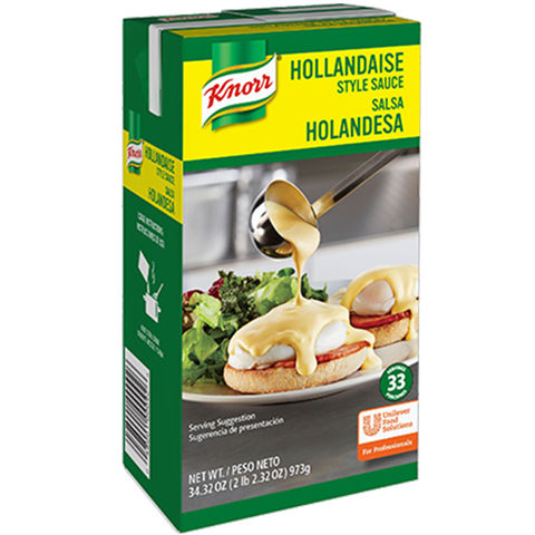 Knorr Liquid Sauce Hollandaise 34.32 oz, Pack of 6 - 10048001000923