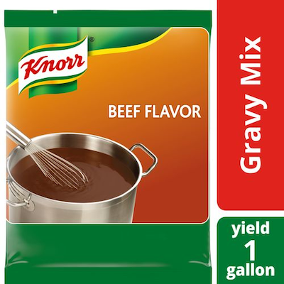 Knorr® Professional Beef Gravy 12.66 ounces, pack of 6 - Knorr® Beef Gravy delivers superior quality, balanced meat flavor, and performance you can rely on.