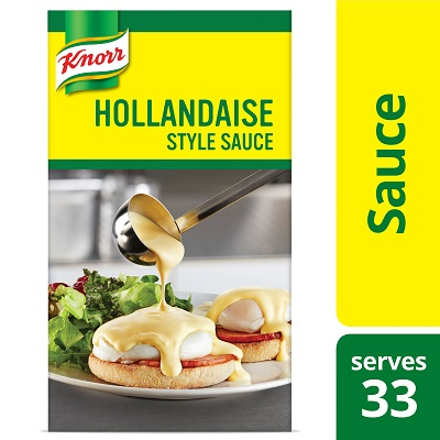 Knorr® Professional Liquid Sauce Hollandaise 34.32 ounces, pack of 6 - Breakfast service can be one of the toughest.