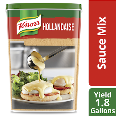 Knorr® Professional Ultimate Sauce Hollandaise Mix 4 x 30.2 oz - Deliver simple, clean food with ease.