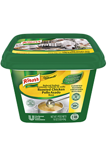 Knorr® Ultimate Ultimate Roasted Chicken Base - 10048001914688 - Knorr® Ultimate has more roasted chicken flavor without the excess salt.