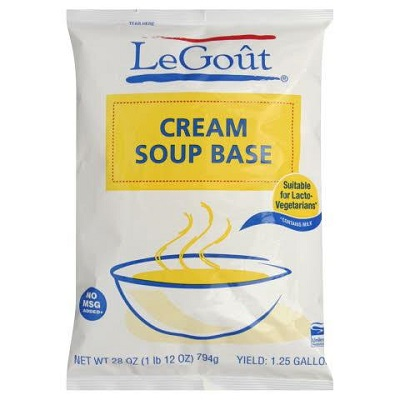 LeGoût® Soup Base Cream 28 ounces, 6 count