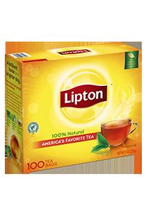 Lipton® Black Tea 10 x 100 bags - Lipton varieties suit every mood.