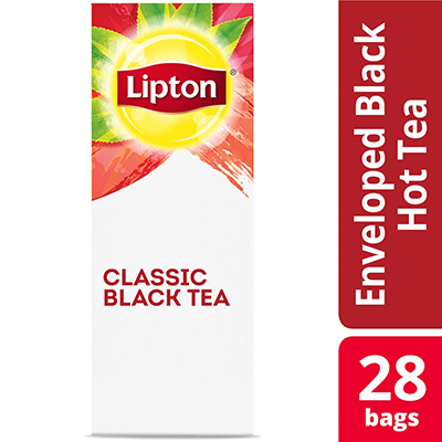 Lipton® Hot Classic Black Tea pack of 6, 28 count - Lipton varieties suit every mood.