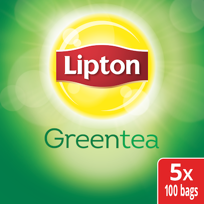 Lipton® Hot Tea Green 5 x 100 bags - Lipton varieties suit every mood.