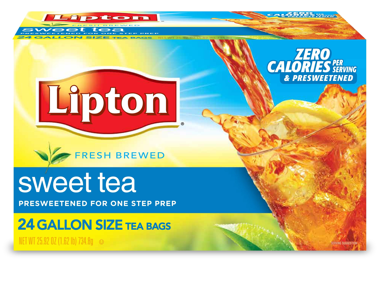 Lipton® Iced Sweet Tea 1 gallon, 2 boxes, 24 count -