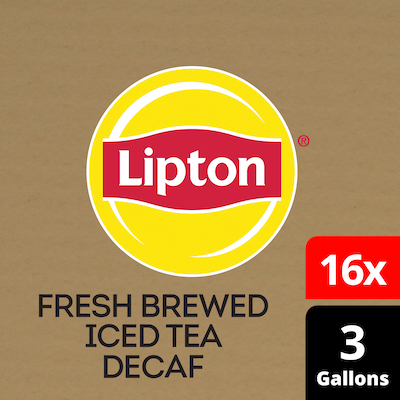 Lipton® Iced Tea Decaffeinated Black 16 x 3 gal -