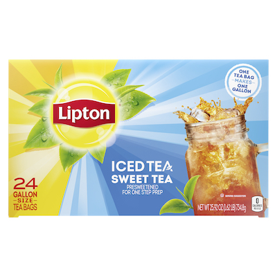 Lipton® Iced Tea Sweet 2 x 24 bags -
