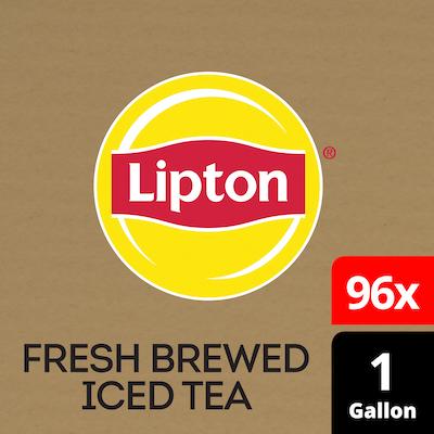 Lipton® Iced Tea Unsweetened Black 96 x 1 gal -