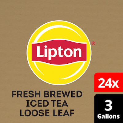 Lipton® Iced Tea Unsweetened Black for Steeping Brewer 24 x 3 gal -