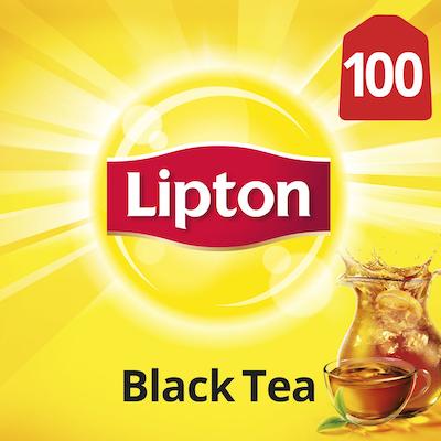 Lipton® Traditional Black Tea 10 x 100 bags - Lipton varieties suit every mood.