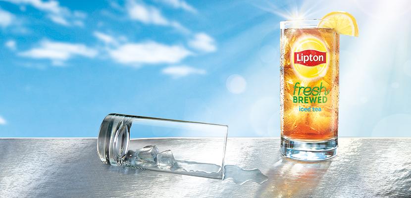 Lipton® Unsweetened Peach Iced Tea forAuto Brew - 10041000458993 - Say it's Lipton®. Sell more tea.