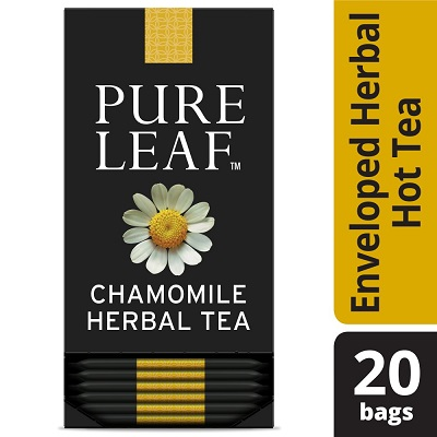 Pure Leaf® Hot Tea Bags Chamomile 20 count, Pack of 6 - Pure Leaf ® Hot Teas match the careful craftsmanship of your menu.