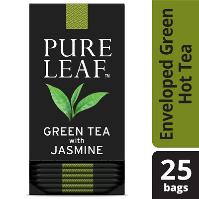 Pure Leaf® Hot Tea Bags Green Tea with Jasmine, 25 count, Pack of 6