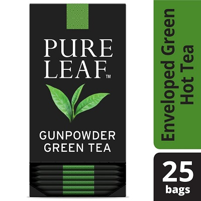 Pure Leaf® Hot Tea Bags Gunpowder Green Tea 25 count, Pack of 6 - Pure Leaf ® Hot Teas match the careful craftsmanship of your menu.