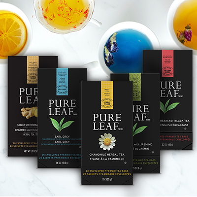 Pure Leaf® Hot Tea Variety Pack 6 x 20/25 bags - Pure Leaf® Hot Teas match the careful craftsmanship of your menu.