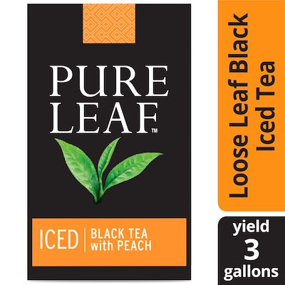 Pure Leaf® Iced Loose Tea Pouch Black with Peach, 3 gallon, 24 count - Pure Leaf® Tea is made with the finest.