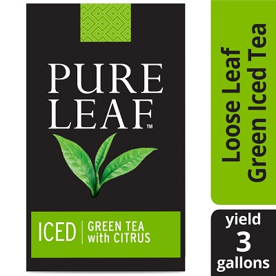 Pure Leaf® Iced Loose Tea Pouch Green with Citrus 3 gallon, 24 count