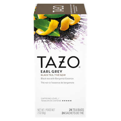 TAZO® Hot Tea Earl Grey 6 x 24 bags - We've got our own thing brewing: dare to be different